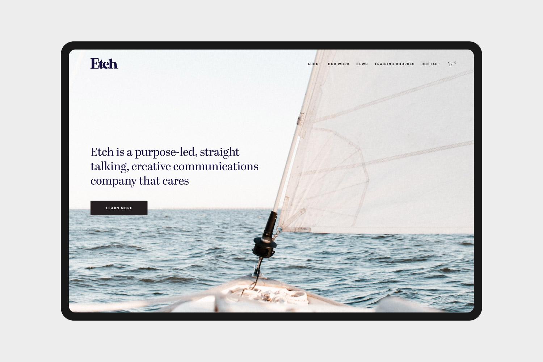 Etch Communications Website