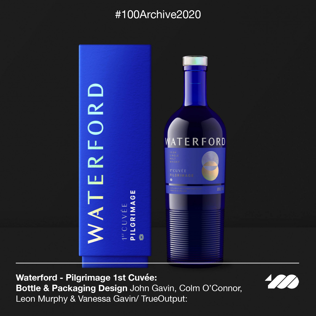 100 Archive, 100archive, 100 archive 2020, 100archive2020, 100archive 2020, Waterford Whisky, Waterford Whisky packaging, Waterford Whisky bottle, Waterford Whisky visual identity, waterford Whisky logo, Waterford Whisky identity